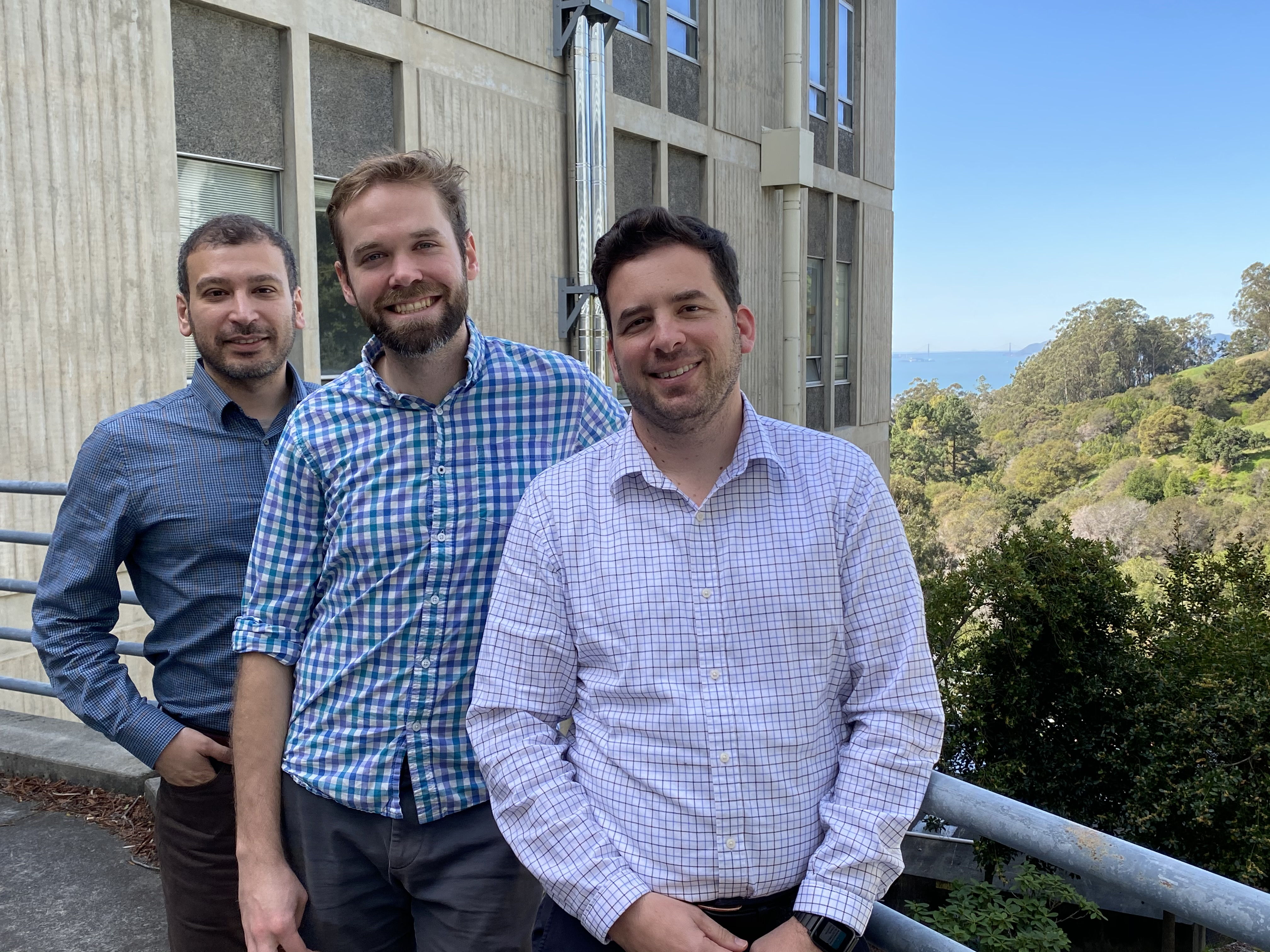 Left to Right: Ahmet Kusoglu, Andrew Crothers and Adam Weber