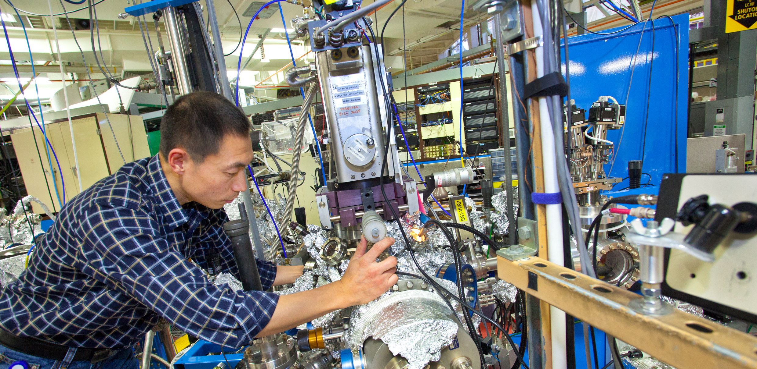 Energy Storage Beamline Research