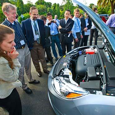 Group looking at electric vehicle battery