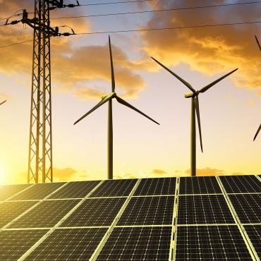 Wind Turbines, PV and Electric Grid